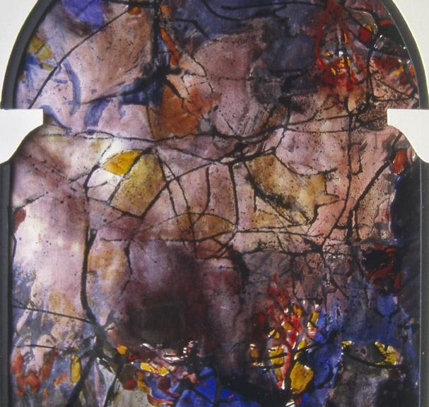 Vitrail 1 Peinture Francoise Baudru