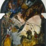 Vitrail 2 Peinture Francoise Baudru