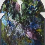 Vitrail 3 Peinture Francoise Baudru