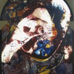Vitrail 5 Peinture Francoise Baudru