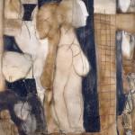 Francoise Baudru Artiste peintre Brun et noir 2