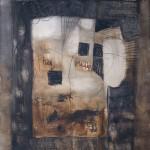 Francoise Baudru Artiste peintre Brun et noir 3