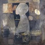 Francoise Baudru Artiste peintre Brun et noir 6
